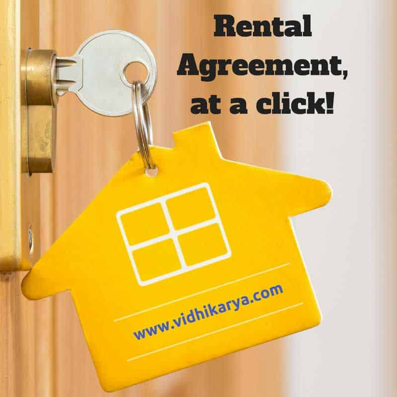 Rental agreement at a click