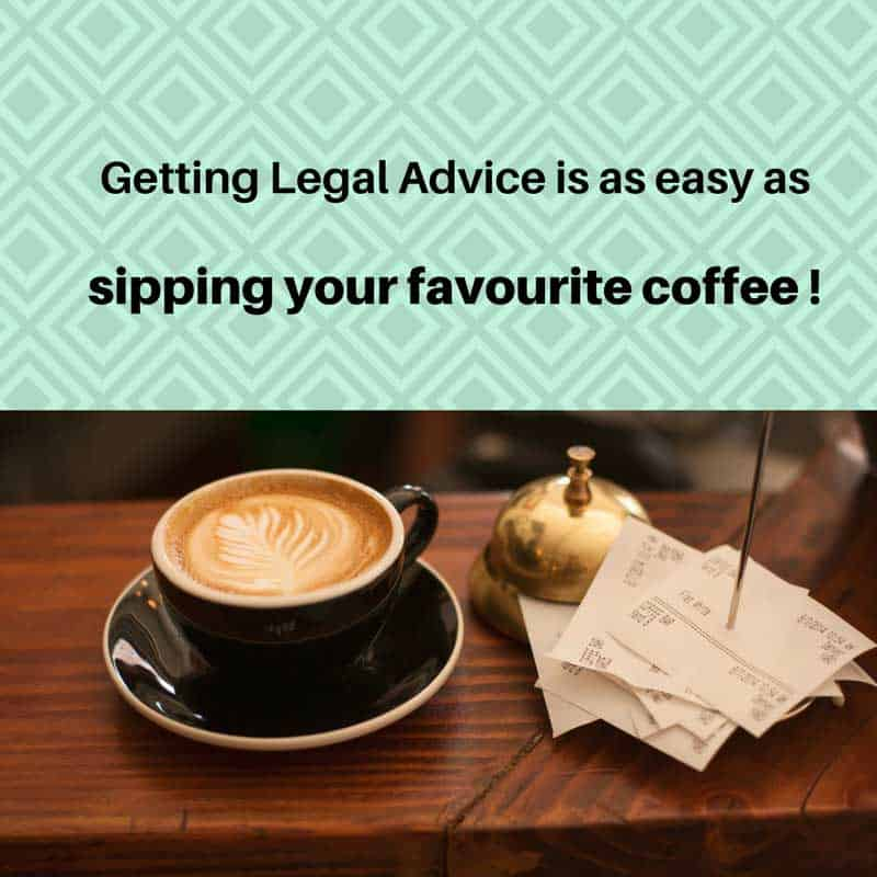 Getting legal advice is as easy as shipping your favorite coffee
